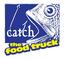 Catch the food truck logo